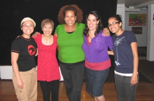 "Oakland, following the performance at ""For Colored Girls Only"" show where I performed my ""Iep Jeltok"" solo piece/monologue"
