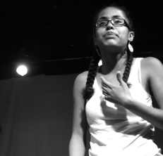 "Performing during the One Love Oceania (OLO) show ""Sustaining Community"""